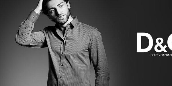 Dolce & Gabbana - luxusní pánské košile