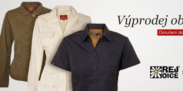 Výprodej oblečení Rejoice a Sherpa