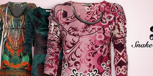 Dámské oblečení Snake Milano - móda s prvky orientu