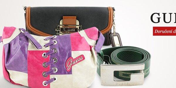 Módní doplňky Guess - kabelky, peněženky, pásky