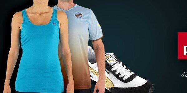 Puma - dámské a pánské tenisky a trička