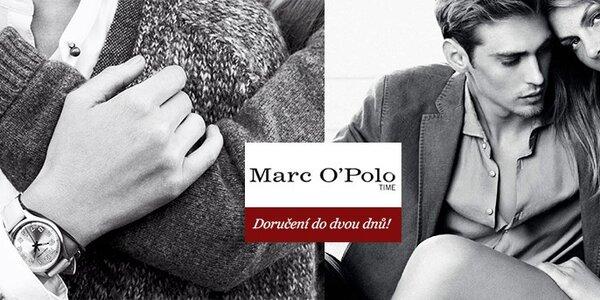 Luxusní hodinky Marc O'Polo - ušlechtilá ocelová krása