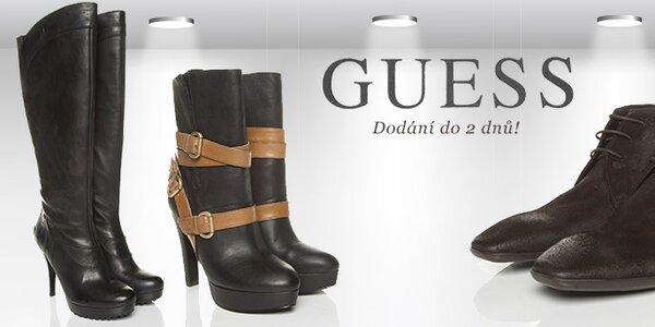 Dámské a pánské boty Guess - nespoutaná vášeň pro nadčasový design