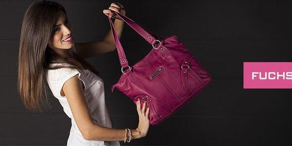 Dámské kabelky a peněženky Fuchsia