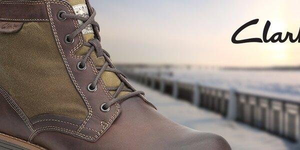 Pánské boty Clarks - čistý design a prvotřídní materiály