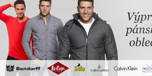 Výprodej pánského oblečení