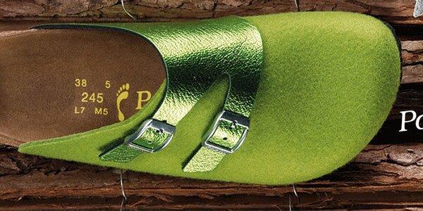 Módní pantofle a baleríny Papillio