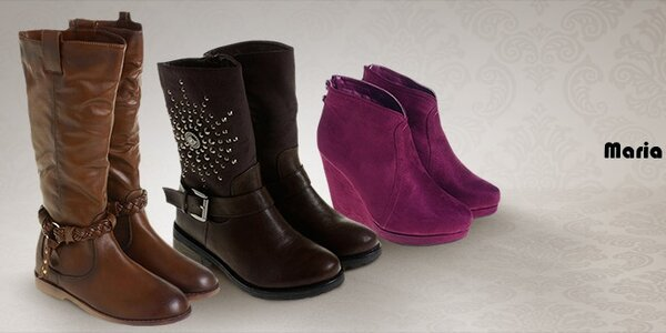 Maria Barcelo - stylová dámská obuv