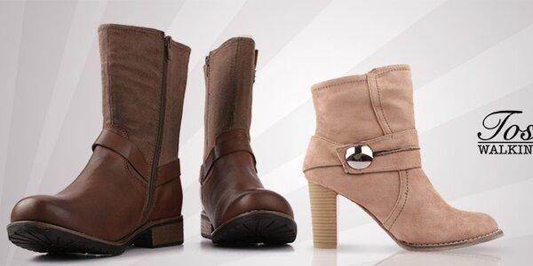 Toscania - stylová dámská zimní obuv