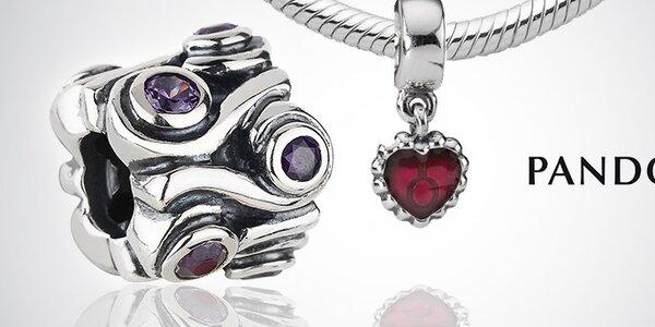 Dámské stříbrné šperky Pandora - rafinovanost spojená s vtipem