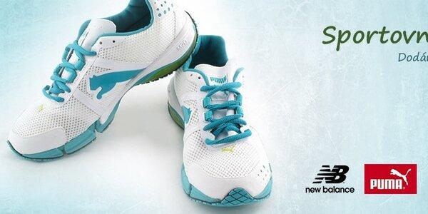 Dámská a pánská sportovní obuv Asics, New Balance, Puma