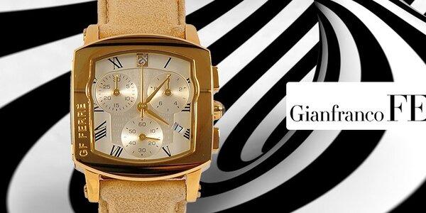 Luxusní dámské hodinky Gianfranco Ferré - ušlechtilé materiály a neopakovatelný design
