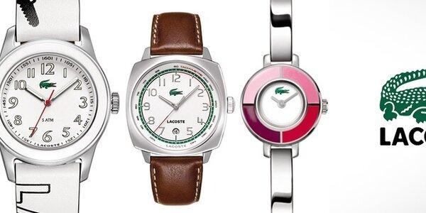 Lacoste - dámské a pánské hodinky