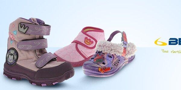 Dětská obuv Beppi - nápadité styly, kvalitní materiály a pohodlné střihy