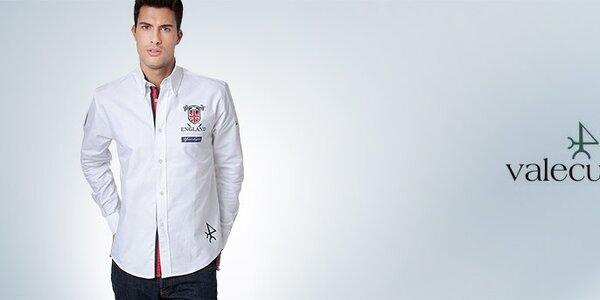Valecuatro - luxusní pánské košile, bundy a pola