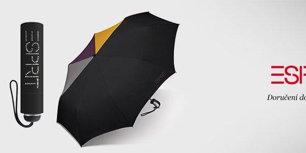 Dámské deštníky Esprit - barevná duha i v tom největším lijáku