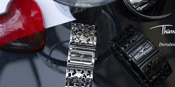 Dámské hodinky Thierry Mugler - nádherný čistý design s motivem hvězd