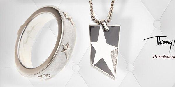 Dámské ocelové šperky Thierry Mugler - tip na Valentýna