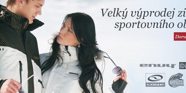 Výprodej sportovního oblečení Envy, Loap, Fundango, Iguana, Northland
