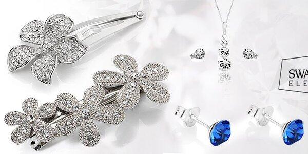 Dámské šperky Swarovski Elements - luxusní řada Diamond Style