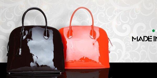 Dámské kožené kabelky Made in Italia