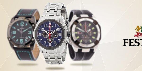 Dámské a pánské hodinky Festina - osvědčená švýcarská kvalita