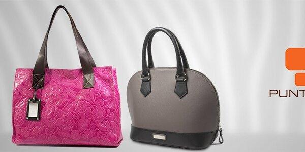 Dámské kožené kabelky a doplňky Puntotres