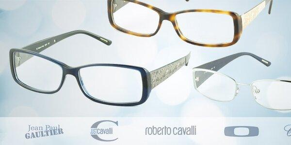 Dioptrické brýle světových značek