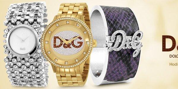 Dolce & Gabbana - dámské a pánské hodinky a šperky