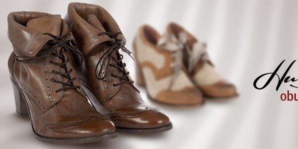Hudson - kvalitní dámská kožená obuv