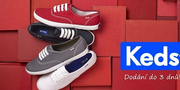 Dámské a pánské boty Keds