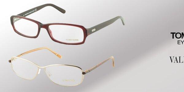 Dioptrické brýle Tom Ford a Valentino