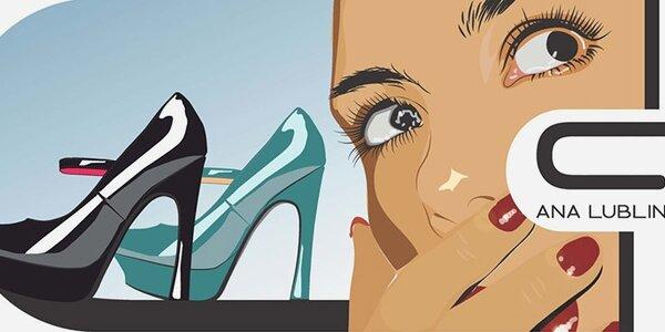 Módní dámské boty Ana Lublin