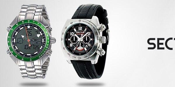 Luxusní sportovní hodinky Sector - pro radost z pohybu