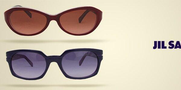 Sluneční brýle Jil Sander - oblíbený retro styl a barevné obroučky