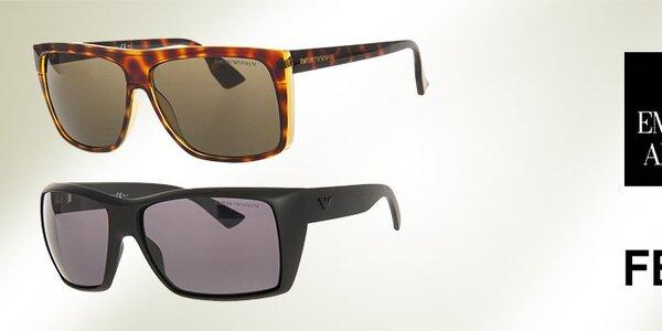 Luxusní sluneční brýle Emporio Armani a Fendi