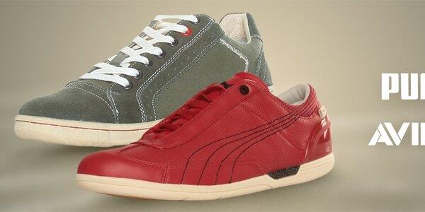 Puma a Avirex - stylová obuv pro muže a ženy