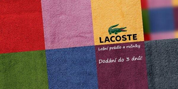 Lacoste - luxusní ložní prádlo a ručníky