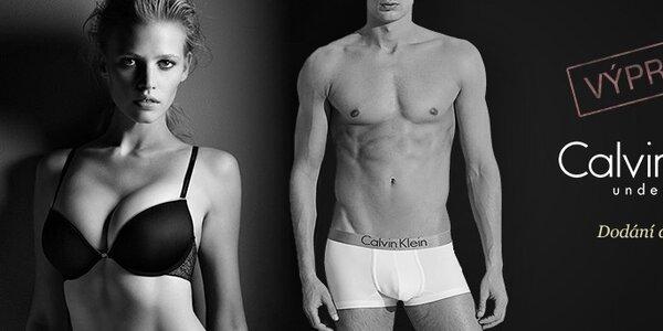 Výprodej dámského a pánského spodního prádla Calvin Klein