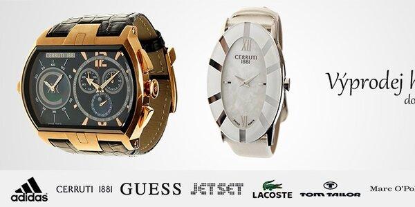 Výprodej dámských a pánských hodinek