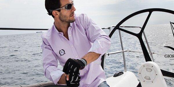 Pánské oblečení Giorgio di Mare - ve velkém jachtařském stylu