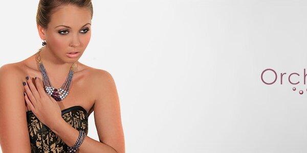 Dámské perlové šperky Orchira - ve stylu Miss Universe