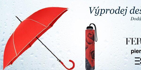 Výprodej dámských deštníků Ferré Milano, Esprit a Pierre Cardin