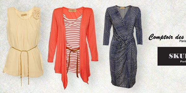 Dámské oblečení Comptoir des Parisiennes a Skulls - smyslné a graciézní