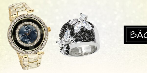 Dámské hodinky a šperky Bague a Dames - když chcete zazářit