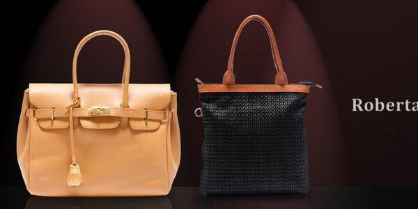Dámské kožené kabelky Roberta Minelli - kouzelné jarní variace