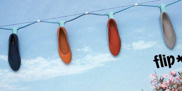 Barevné sandály Flip Flop - a léto může začít