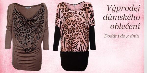 Výprodej dámského oblečení By Zoe, ByLu, Victoria Look, Caniche, Freesoul, Holly Kate, Hope a dalšíc