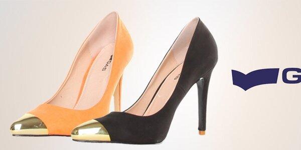 Dámské boty GAS - kovové detaily a pestré letní odstíny