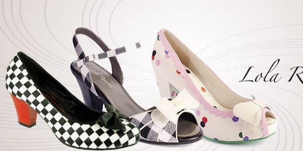 Dámské boty Lola Ramona - roztančete se v rytmu amerického rock´n´rollu
